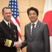 アメリカ海軍制服組トップが来日 海上における日本との緊密な連…