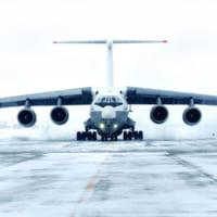 ロシアの最新型空中給油機Il-78M-90Aがついに飛行試…