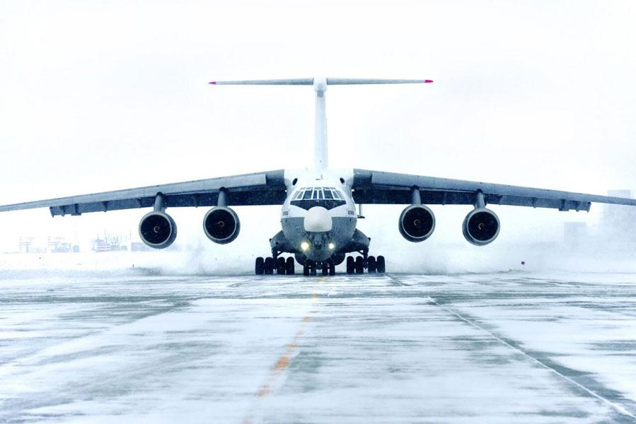 ロシアの最新型空中給油機Il-78M-90Aがついに飛行試験開始