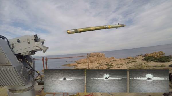 フランスの対空ミサイルが高速の上陸用小型船艇にも対応!実射試験に成功