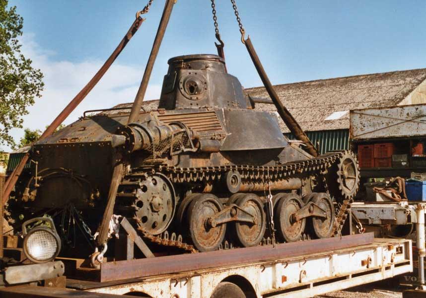 九五式軽戦車里帰りプロジェクトがクラウドファンディング開始