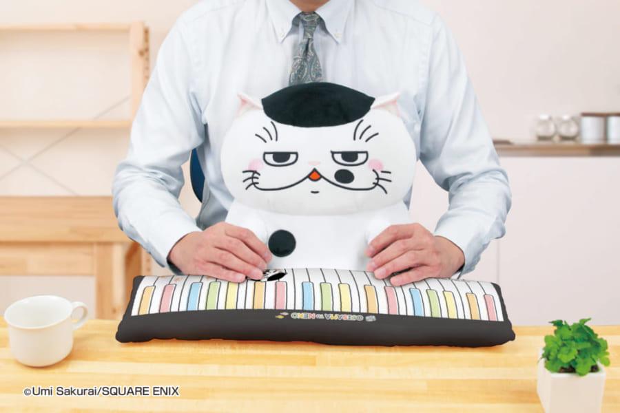 Twitter発の人気猫漫画「おじさまと猫」の「ふくまる」がPCクッションになったよー!