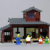 レゴで「8時だョ!全員集合 」のセットを再現 「志村! 後ろ…