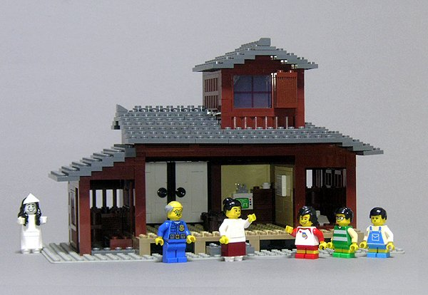 レゴで「8時だョ!全員集合 」のセットを再現 「志村! 後ろ後ろー!」