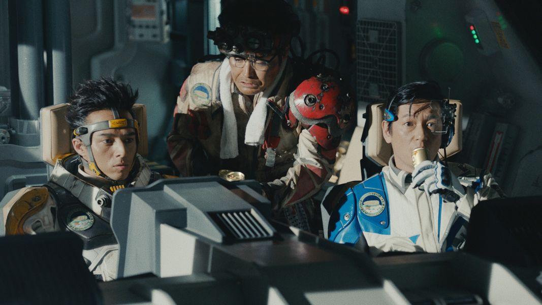 宇宙船舞台にした安田顕、井浦新、満島真之介出演のCMシリーズに新作 「宇宙一の絶景」キャンペーンもスタート