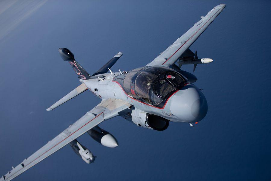 最後のEA-6B飛行隊が解隊 プラウラーが米軍から退役