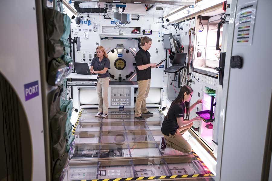 未来の月ステーションはこんな感じ? 居住モジュールの技術検証モデル完成
