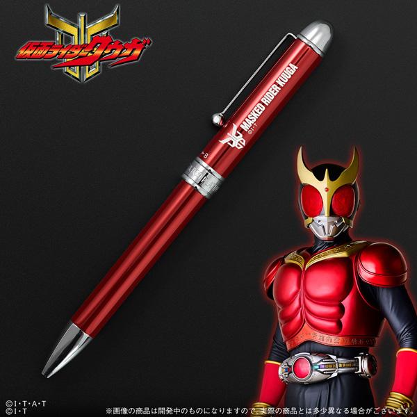 平成仮面ライダー19作品が多機能ボールペンに