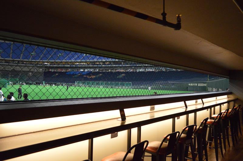 東京ドームに新しくできた観戦ルームに行ってみた
