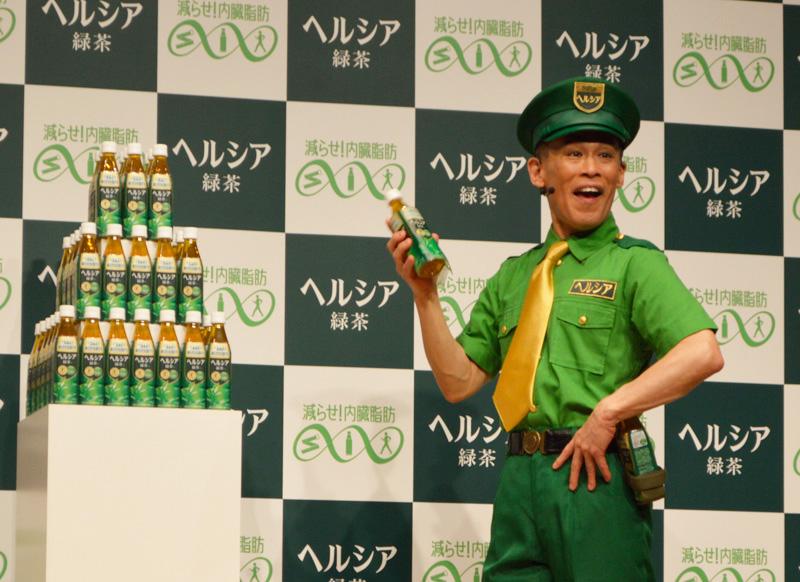 柳沢慎吾がヘルシアポリスに就任 新CM「内臓脂肪24時」篇が発表