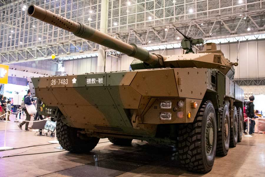 16式機動戦闘車がやってきた!「ニコニコ超会議2019」自衛隊ブース