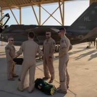 アメリカ空軍F-35A部隊が中東へ派遣 初めての実戦へ