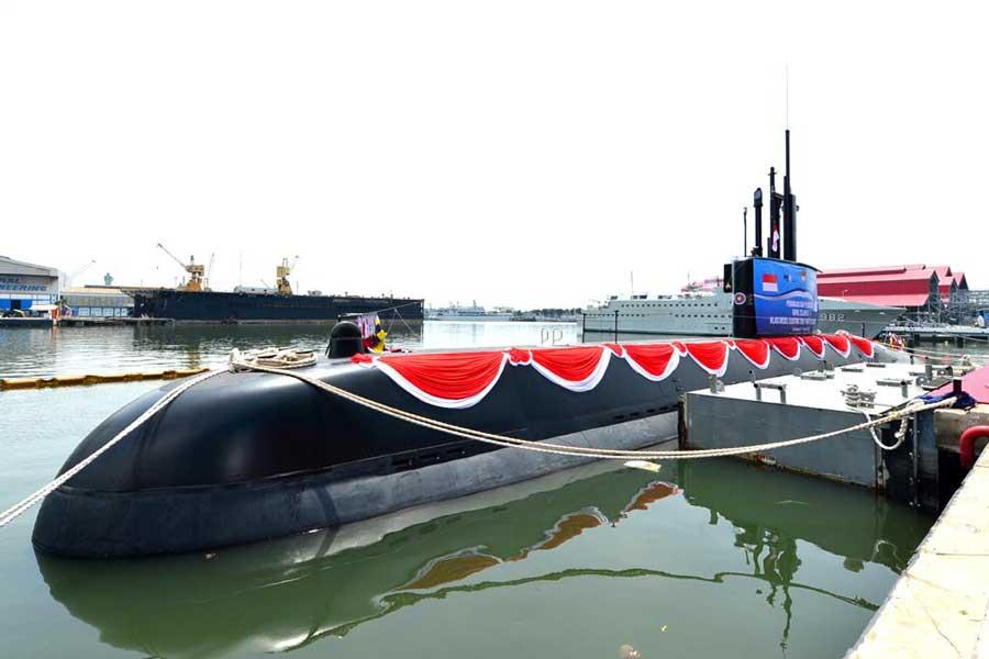 インドネシア初の国内建造潜水艦が進水 海軍の潜水艦戦力強化へ