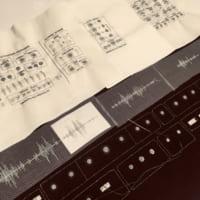 無機質な中に音を感じる アナログシンセ筐体刺繍が美しい!