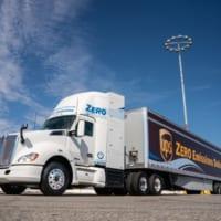 トヨタが水素燃料電池トラックを公開 カリフォルニアで「ゼロ…