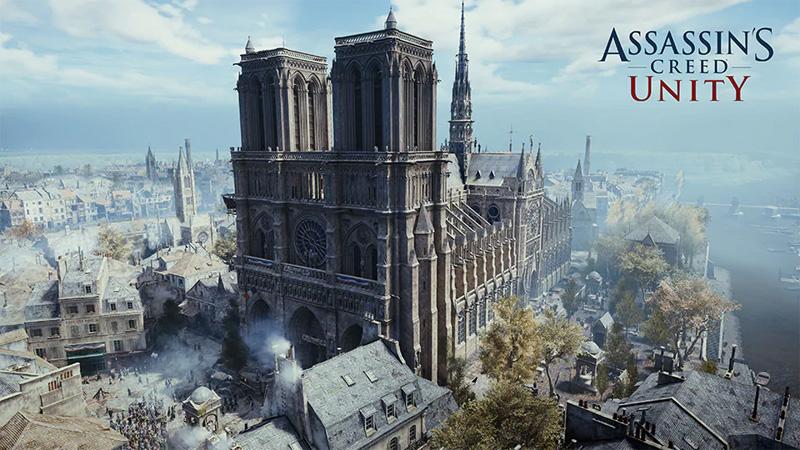 【ゲーム】ノートルダム大聖堂のデータを持つUBISOFT「アサシン クリード ユニティ」が1週間無料ダウンロード可能に
