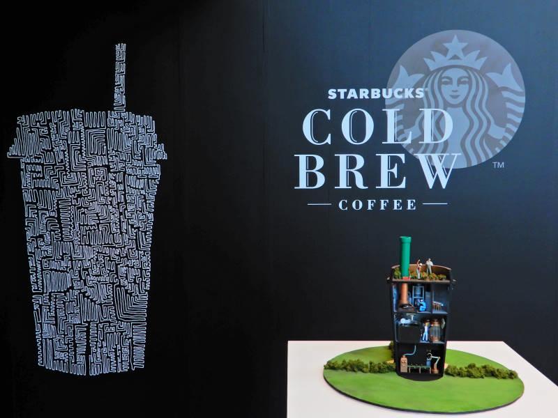 「スターバックス(R) コールドブリュー コーヒー」の世界をジオラマで表現 「A story of Starbucks(R) Chilled Cup COLD BREW」代官山で開催