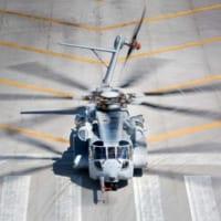 アメリカ海兵隊の新型輸送ヘリCH-53Kの第2・…