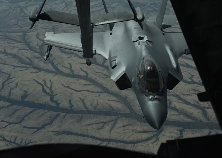 アメリカ空軍F-35Aが初の実戦参加 イラクで地上攻撃を実施