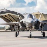 イギリス空軍F-35Bが初めてイギリス本土を離れる訓練「ラ…