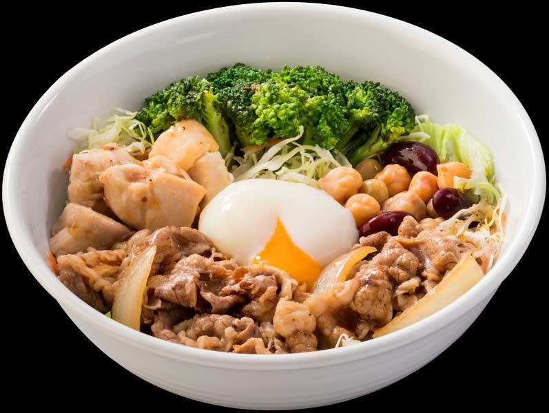 ご飯の代わりにサラダで牛丼!? 吉野家×ライザップ「ライザップ牛サラダ」5月9日から販売