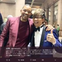 日米のジーニーが夢の共演!声優の山寺宏一がウィル・スミスとの…