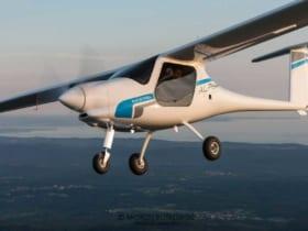 ヨーロッパで型式証明を受けた電動飛行機アルファ・エレクトロ(Image:ヨーロッパで型式証明を受けた電動飛行機アルファ・エレクトロ(Image:PIPISTREL))