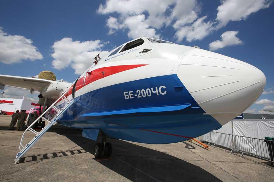 チリがロシアBe-200ES飛行艇を追加発注 インドも旅客型に興味