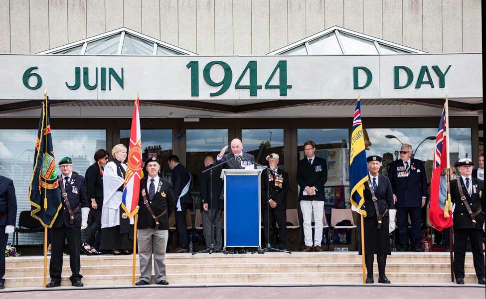 あの日を忘れない ノルマンディ上陸作戦75周年犠牲者追悼式典が英仏で開催