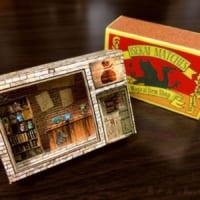 マッチ箱の中は異世界のお店……魔法みたいなペーパークラフト…