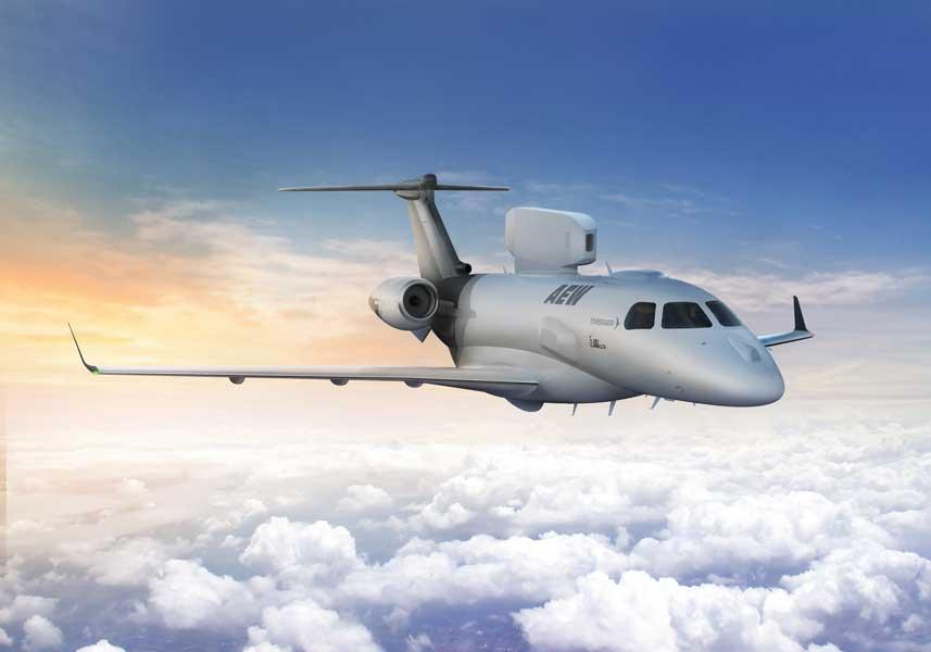 エンブラエルがイスラエルIAIと共同で早期警戒機「P600」の開発を発表