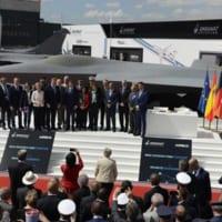パリ航空ショーでフランス・ドイツ・スペイン共同開発の次世代…