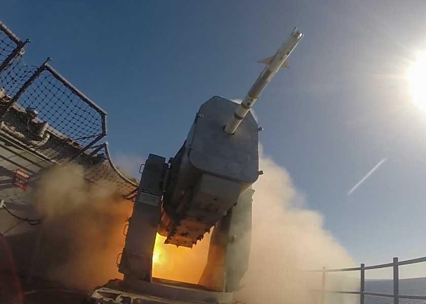 アメリカ海軍の近接防空ミサイルRAMがアップグレード 2019年中に納入予定