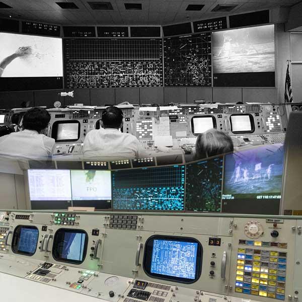 アポロ11号月着陸50周年 NASAが当時のミッション・コントロールを修復して公開