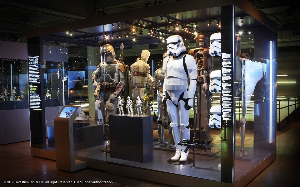 スター・ウォーズの大展覧会が本格始動 日本公開日にHPグランドオープン