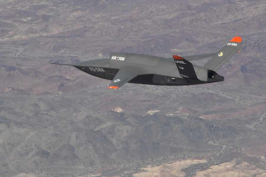 アメリカ空軍の低コストドローンXQ-58Aバルキリーが2回目の試験飛行に成功