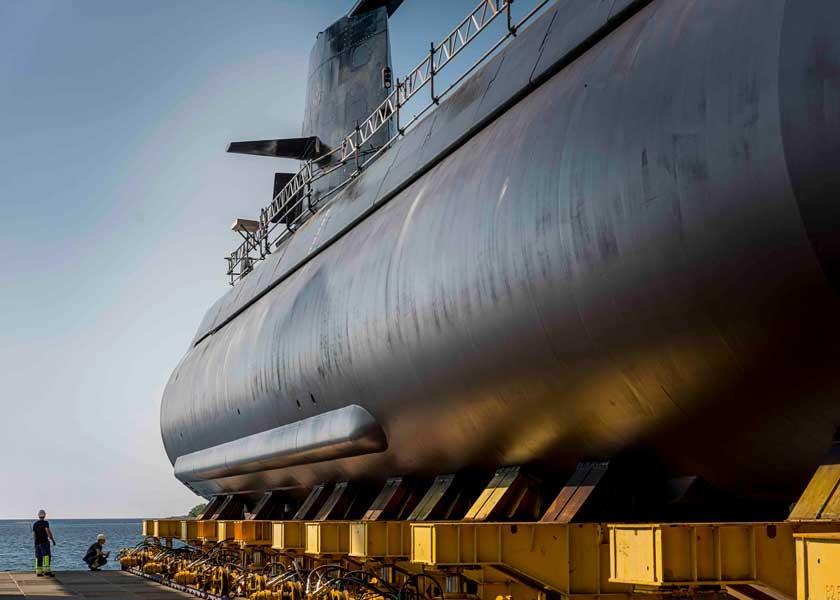 スウェーデンのゴトランド級潜水艦2番艦ウップランド 近代化改修を完了