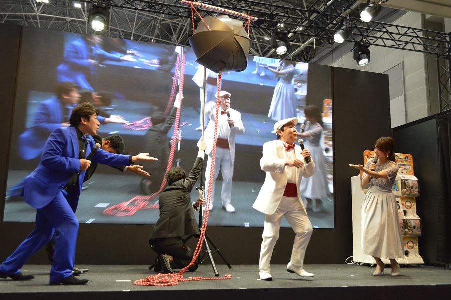 「東京おもちゃショー2019」 人気芸能人が多数登場したバンダイブースに行ってきた