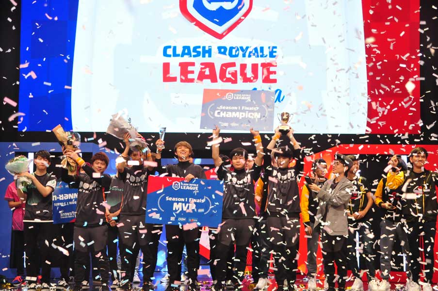 「クラロワリーグ アジア2019」シーズン1王者はPONOS!GameWithとの日本対決を制す