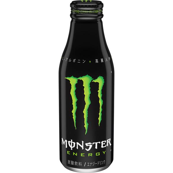 コアファンに向けて増量 「モンスターエナジー ボトル缶500ml」日本限定発売