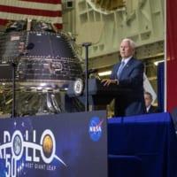 アポロ11号50周年の日にNASAの新宇宙船オリオン1号機…