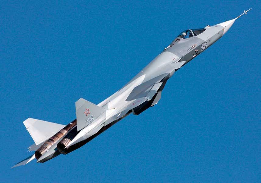 ロシアが第5世代戦闘機Su-57量産型を正式発注