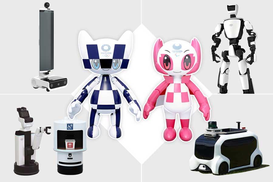 トヨタがオリンピック・パラリンピックのサポートロボット発表