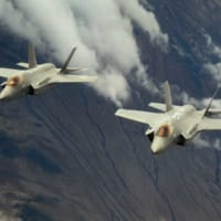 アメリカ空軍F-35 7年早く自動地表面衝突回避装置の実装…