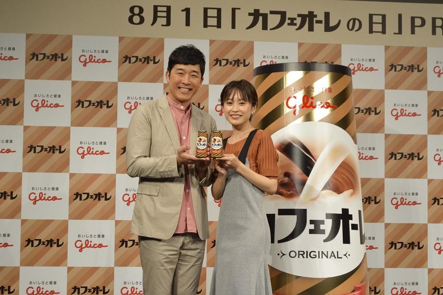 広告共演は初!あべこうじ&高橋愛夫婦登場の「カフェオーレの日」PRイベント行ってきた