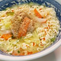 ライフハックレシピ「野菜たっぷりタンメン」が優秀 即席麺とカ…