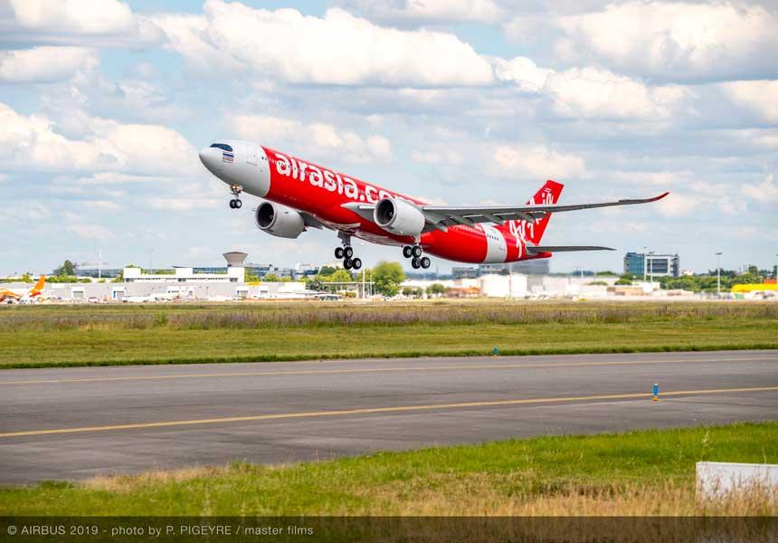 エアアジアXがA330neo初号機を受領 日本線にも投入予定