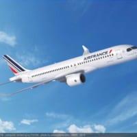 エールフランスがエアバスA220を60機大量発注 A380…
