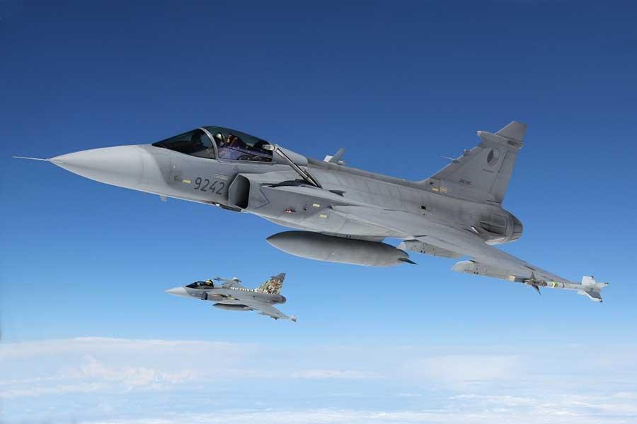 チェコ空軍のグリペン 9月からバルト海防空任務でエストニアへ展開