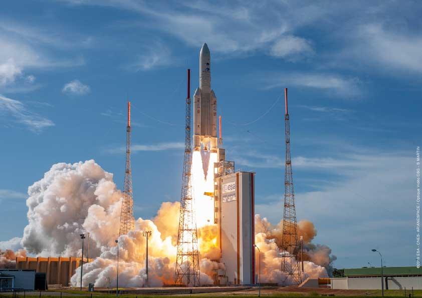 毎秒1.8ギガビット!高速データ中継衛星EDRS-C打ち上げ成功
